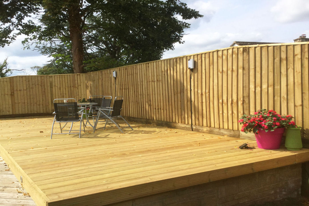 Fife fencing and decking